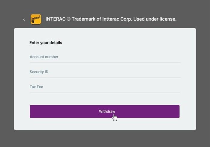 Interac Withdrawal 3