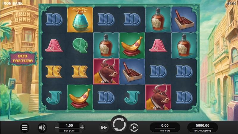 Iron bank relax gaming Slot Screenshot - CasinoTop