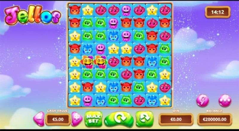 Jellos Slot Screenshot - CasinoTop