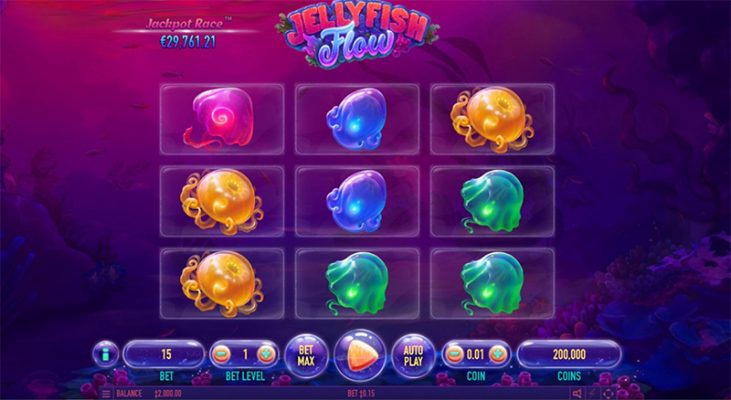 Jellyfish Flow Slot Images - CasinoTop