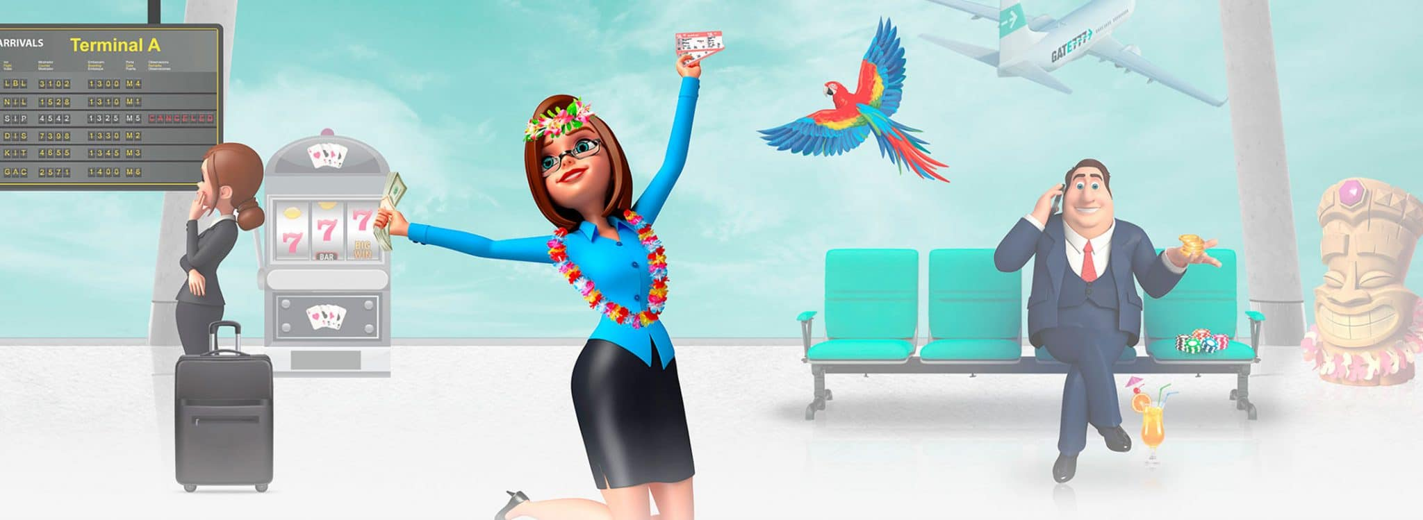 Jet Away To Promotions and Bonuses At Gate777 Casino Today element01 - CasinoTop