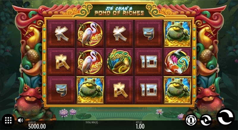 Jin Chan's Pond of Riches Slot Screenshot - CasinoTop