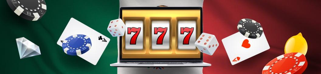Juegos de azar en casinos online de Mexico