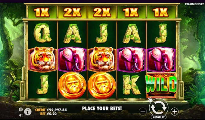 Jungle Gorilla Slot Images - CasinoTop