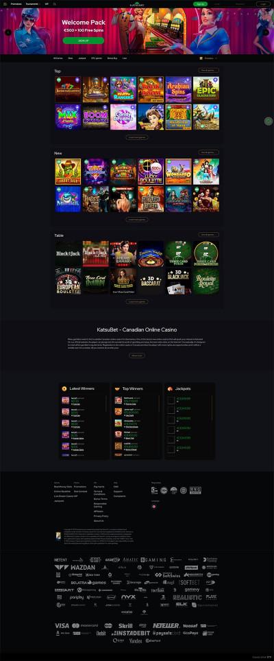 Katsubet Casino Screenshot