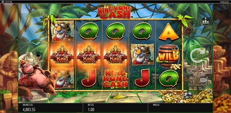 King Kong Cash Jackpot King Slot Images - CasinoTop