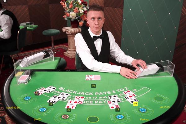 Live Blackjack images