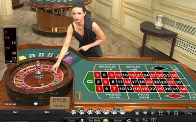 Live French-European-American Roulette