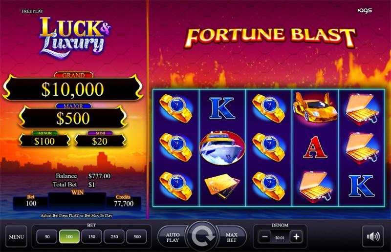 Luck Luxury Slot Images - CasinoTop