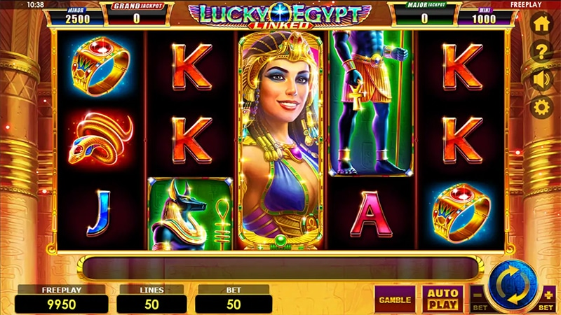 Lucky Egypt Slot Images - CasinoTop
