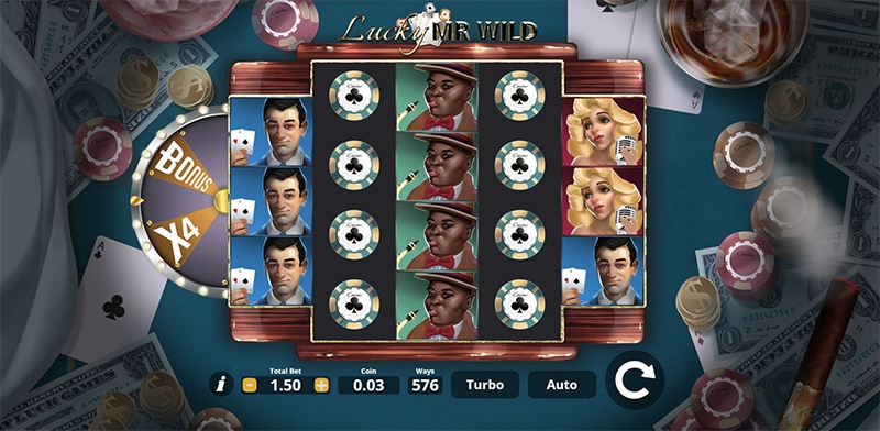 Lucky Mr. Wild Slot Images - CasinoTop