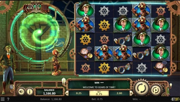 Miles Bellhouse and the Gears of Time Slot Images - CasinoTop