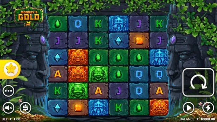 Monkeys Gold Slot Images - CasinoTop