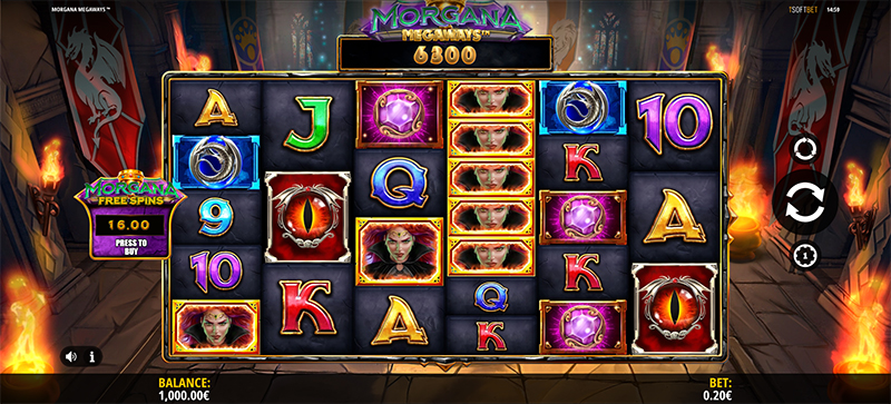 Morgana Megaways Slot Images - CasinoTop