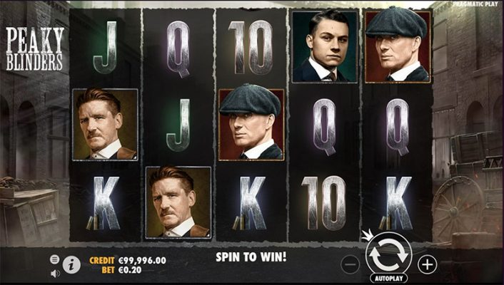 Peaky Blinders Slot Images - CasinoTop