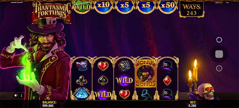 Phantasmic Fortunes Slot Images - CasinoTop