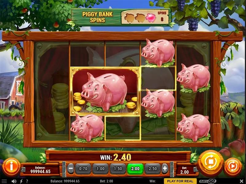 Piggy Bank Farm Slot Images - CasinoTop