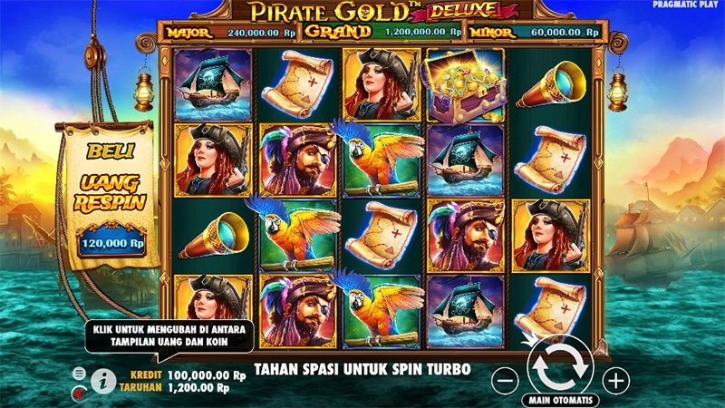 Pirate Gold Deluxe Slot Images - CasinoTop