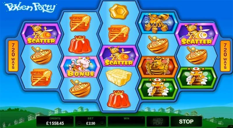 Pollen Party Slot Images - CasinoTop