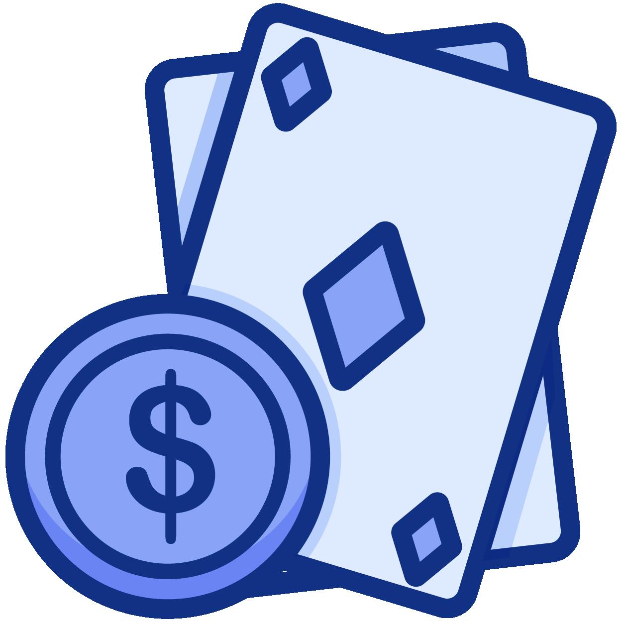 Possibilidade de jogar a dinheiro real ou gratuitamente icon