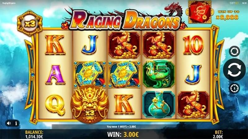 Raging Dragons Slot Images - CasinoTop