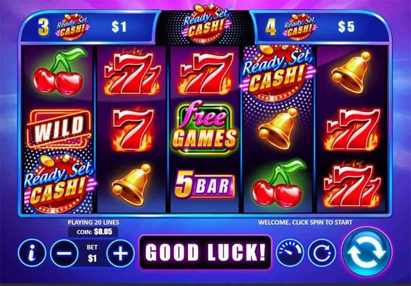 Ready Set Cash Slot Images - CasinoTop