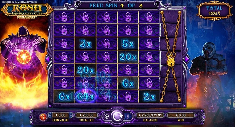 Rosh Immortality-Cube Megaways Slot Images - CasinoTop