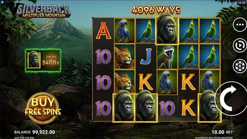 Silverback Multiplier Mountain Slot Images - CasinoTop