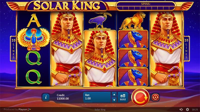 Solar King Slot Images - CasinoTop