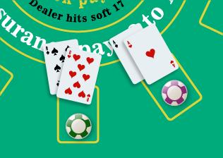 Split Aces & 8's