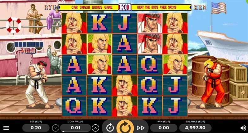Street Fighter 2 The World Warrior Slot Images - CasinoTop
