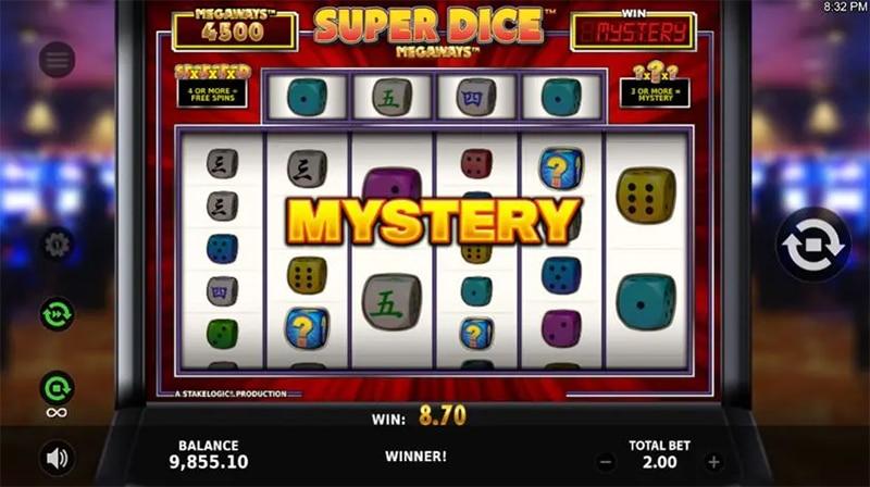 Super Dice Megaways Slot Images - CasinoTop