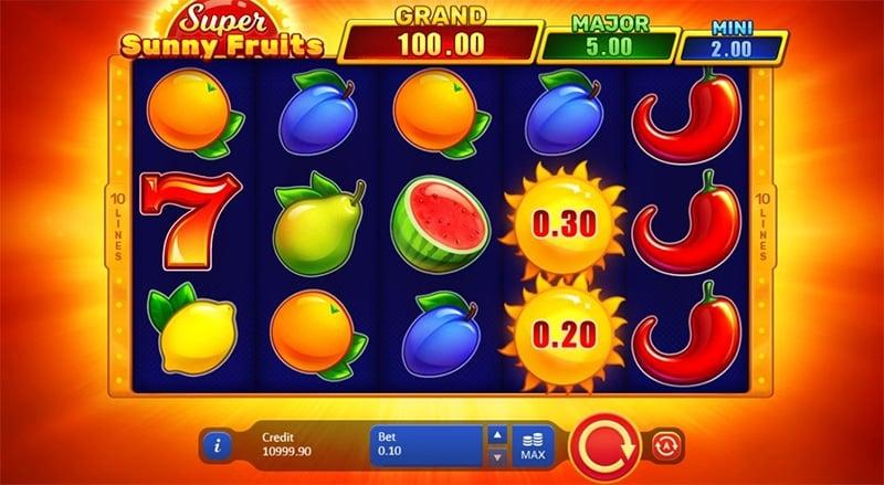 Super Sunny Fruits Slot Images - CasinoTop