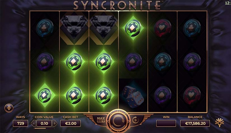 Syncronite Slot Images - CasinoTop