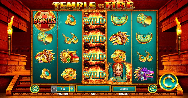 Temple of Fire Slot Images - CasinoTop