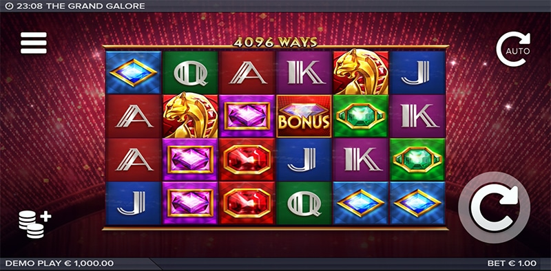 The Grand Galore Slot Images - CasinoTop