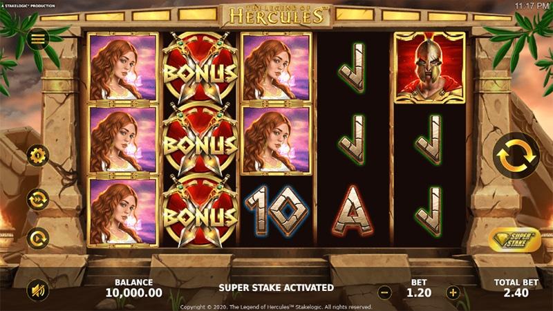 The Legend of Hercules Slot Images - CasinoTop