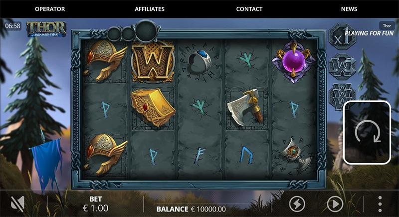 Thor God of Thunder Slot Images - CasinoTop
