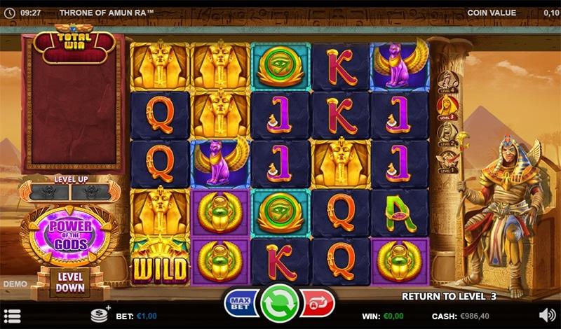 Throne of Amun-Ra Slot Images - CasinoTop