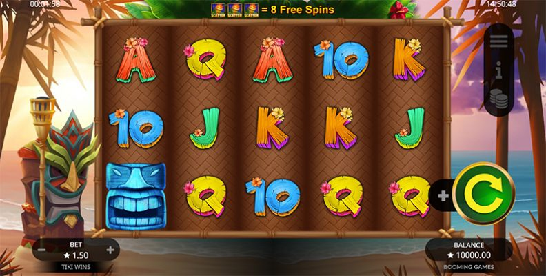 Tiki Wins Slot Images - CasinoTop