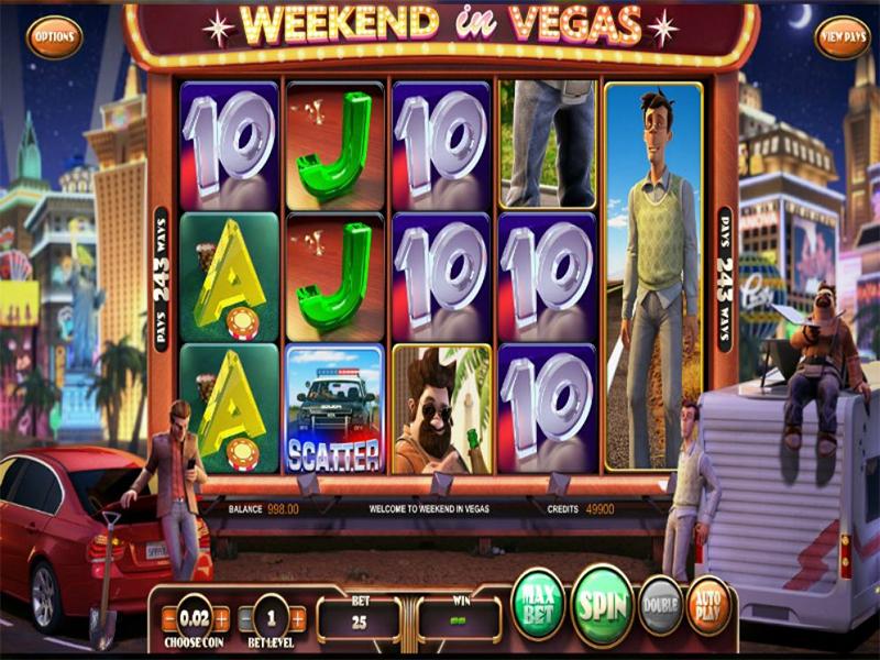 Weekend in Vegas Slot Image - CasinoTop