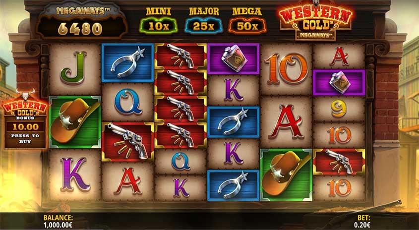 Western Gold Megaways Slot Images - CasinoTop