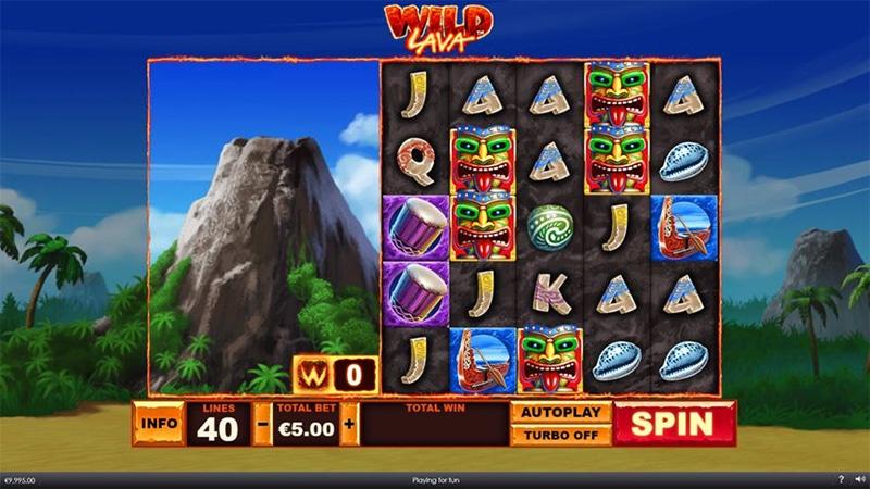 Wild Lava Slot Images - CasinoTop