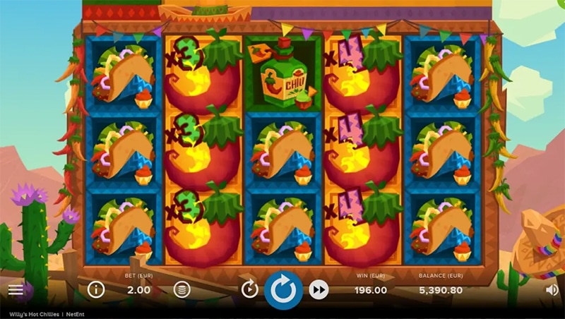 Willy's Hot Chillies Slot Images - CasinoTop