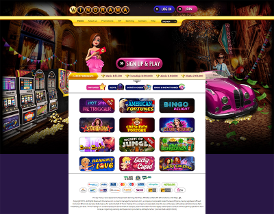 Winorama Casino Screenshot