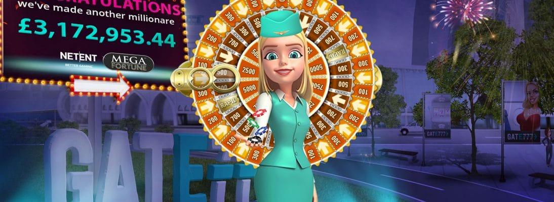 Mega Fortune Pays Gate 777 Player C$4.8 Million