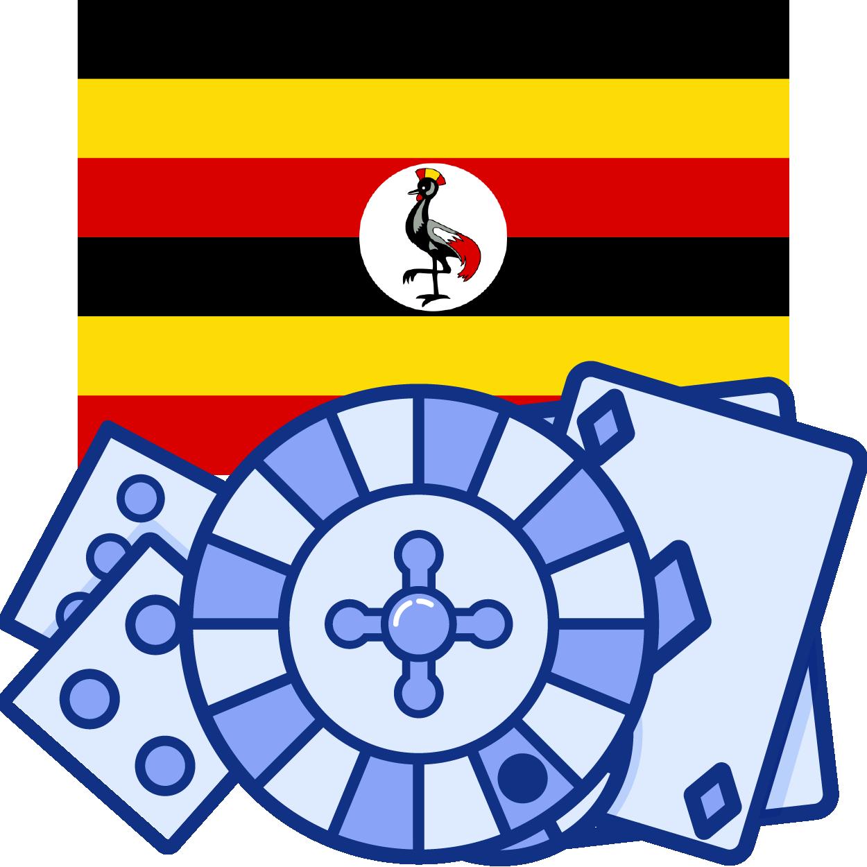 uganda casino flag icon
